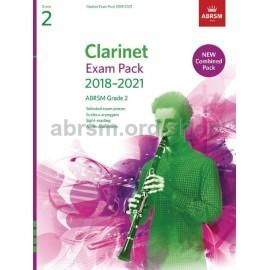 ABRSM CLARINET EXAM PACK 2018-2021 GRADE 2