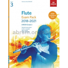 ABRSM FLUTE EXAM PACK 2018-2021 GRADE 3