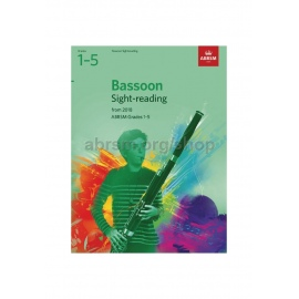 ABRSM BASSOON SIGHT READING 2018 GRADES 6-8