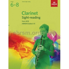 ABRSM CLARINET SIGHT READING FROM 2018 GRADE 6 - 8