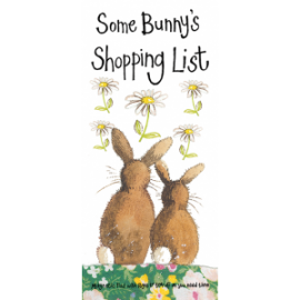 Some Bunny's Shopping List - Magnetic Pad with pages to tear off as you need them.