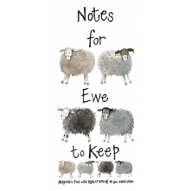 Notes For Ewe to Keep - Magnetic Pad with pages to tear off as you need them.