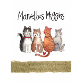 Marvellous Moggies Spiral Notebook