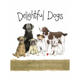 Delightful Dogs Spiral Notebook
