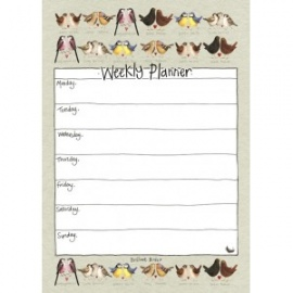 Brilliant Birds Weekly Planner