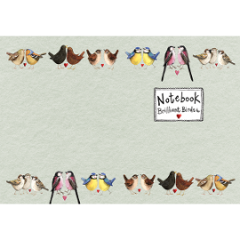 Brilliant Birds Medium Soft Notebook