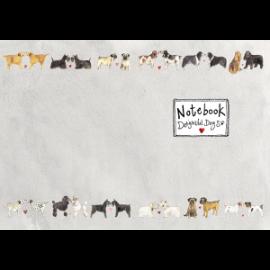 Delightful Dogs Medium Soft Notebook