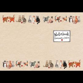 Charismatic Cats Medium Soft Notebook