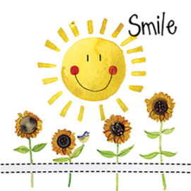 Smile Mini Magnetic Notepad