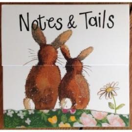 Rabbit Mini Magnetic Notepad