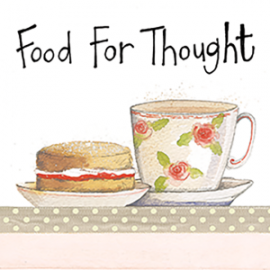 Food For Thought Mini Magnetic Notepad