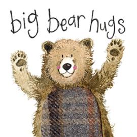 Bear Hugs Mini Magnetic Notepad