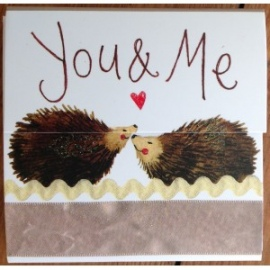 You and Me Mini Magnetic Notepad