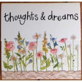Thoughts and Dreams Mini Magnetic Notepad