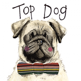 Top Dog Mini Magnetic Notepad