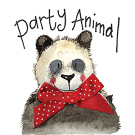 Party Animal Mini Magnetic Notepad