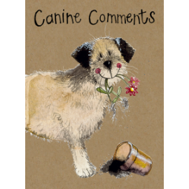 Border Terrier Small Kraft Paper Notebook