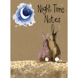 Moon Small Kraft Paper Notebook