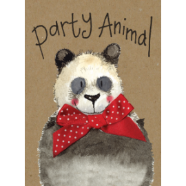 Party Animal Small Kraft Paper Notebook