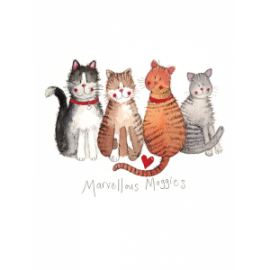 Marvellous Moggies Small Spiral Notepad