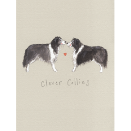 Clever Collies Small Spiral Notepad
