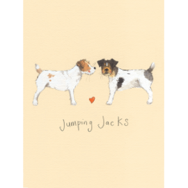 Jumping Jacks Small Spiral Notepad
