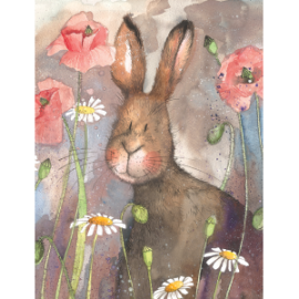 Hare Small Chunky Notepad