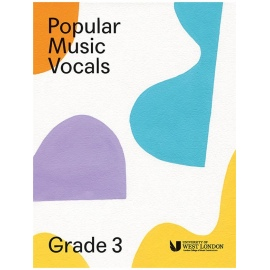 LCM Popular Music Vocals Grade 3