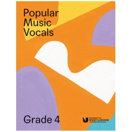 LCM Popular Music Vocals Grade 4