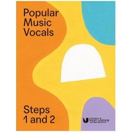 LCM Popular Music Vocals Step 1 & 2