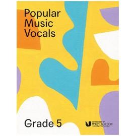 LCM Popular Music Vocals Grade 5