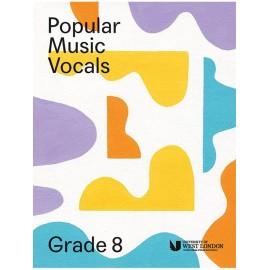 LCM Popular Music Vocals Grade 8