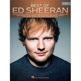 Ed Sheran, Best of: Easy Piano