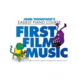 John Thompsons Easiest Piano Course: First Film Music