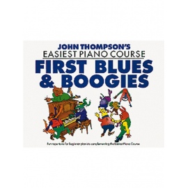 John Thompson's Easiest Piano Course: First Blues And Boogie