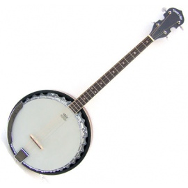 The Bridge Short Scale Banjo with Hard Case