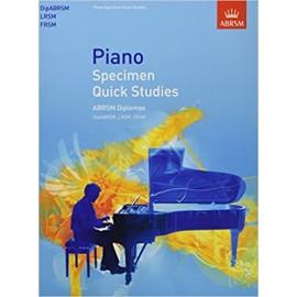 ABRSM Piano Specimen Quick Studies ABRSM Diplomas