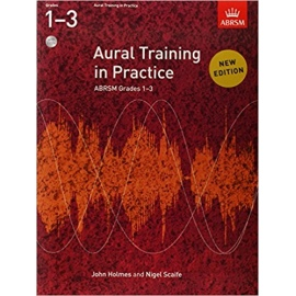 ABRSM AURAL TRAINING IN PRACTICE NEW EDITION GRADES 1 - 3