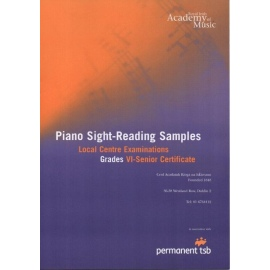 Royal Irish Academy Piano Sight-Reading Samples Grades 6 - Senior Certificate