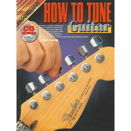 Progressive How To Tune Guitar (Book & CD)