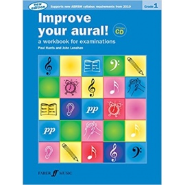 Improve Your Aural! New Edition Grade 1 Bk/CD