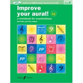 Improve Your Aural! New Edition Grade 2 Bk/CD