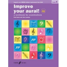 Improve Your Aural! New Edition Grade 4 (Book & CD)