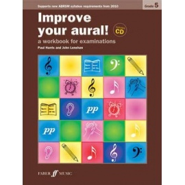 Improve Your Aural! New Edition Grade 5 (Book & CD)