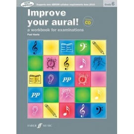 Improve your Aural! New Edition Grade 6 (Book & CD)