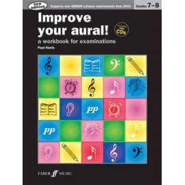 Improve your Aural! New Edition Grades 7-8 (Book & CD)